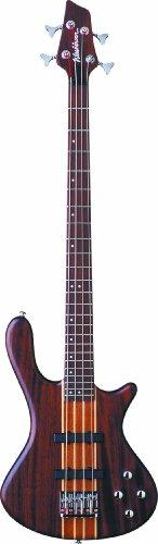 Washburn T24NMK Taurus 4-String Electric Bass Guitar with Gig Bag, Natural Matte Finish
