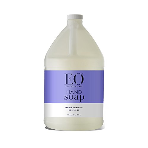 EO Hand Soap: French, Refill , Lavender, 128 Fl Oz
