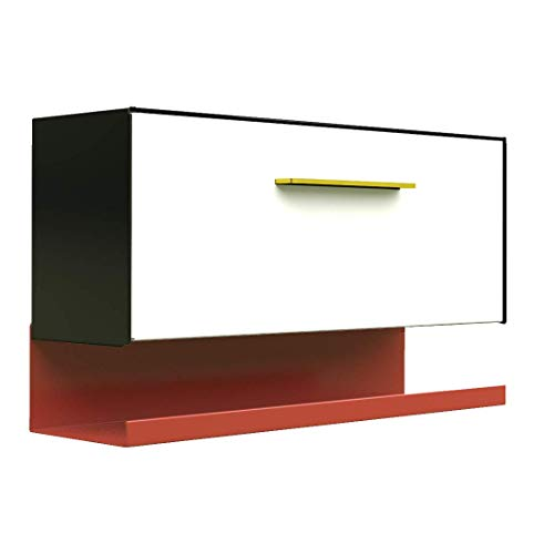 modbox USA Modern Wall Mounted Mailbox Custom Color Combo with Letter Tray Option