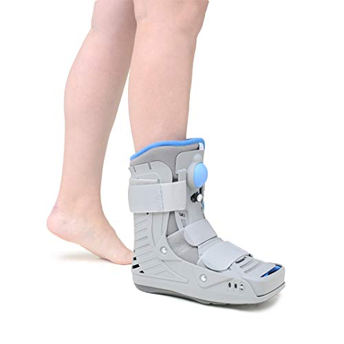 Medically Approved - Ultra Short Air Walker Fracture Boot for Foot & Ankle Fractures, Sprains, Injuries - Supplied to UK Hospitals (Small - UK Shoe: 4-6.5)