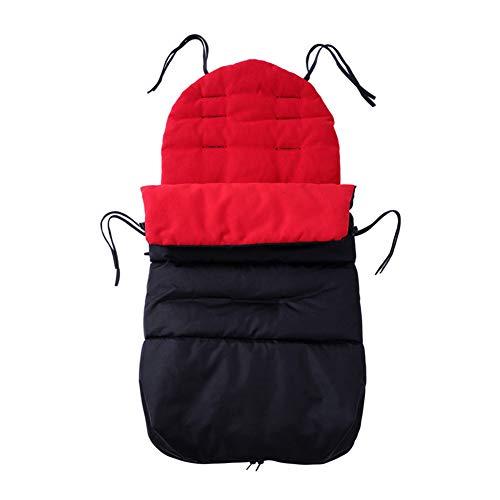 Baby GOUO@ Sac de Couchage Universel pour Poussette Hiver Pare-Brise Maintien au Chaud Coussin Couvre-Pied Poussette pour Parapluie bébé Sac de Transport Chancelière Sac