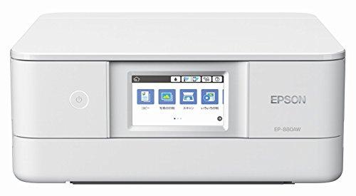エプソン プリンター インクジェット複合機 カラリオ EP-880AW ホワイト(白)