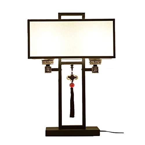 YWSZJ Dormitorio lámpara de cabecera, lámpara de Mesa Sala de antigüedades de la Personalidad Creativa de decoración de Interior de la lámpara