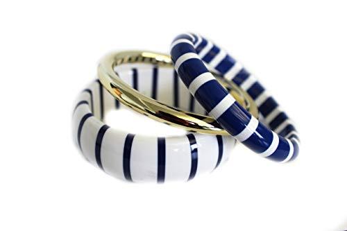 Westland GmbH Maritimes Armreif Set 3tlg. (blau,weiß,Gold) 051-00111