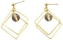 SE DIPITY Double Square Drop Dangle Earrings