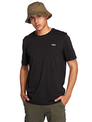 Fila Men Unwind Tee T-Shirt, Nero, L Uomo