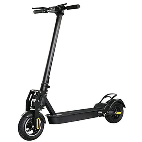 HJKJ Scooter eléctrico para Adultos, Scooter Plegable, Scooter de Disco de Dos Ruedas, Adolescente/niños Unisex Daily Viaje de Viaje Regalo de cumpleaños