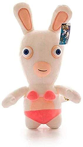 QIXIDAN Juguetes de Peluche Rayman Raving Rabbids Rabbit Kawaii Plush Animation Rabbit Animal Kids Toy 25cm muñecos de Peluche para niños niñas Regalo