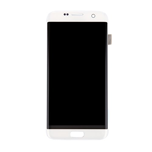 ZHOUYOUCHENGLCD Compatibel met Galaxy LCD Samsung Nieuw LCD-scherm + Touch Panel voor Galaxy S7 Edge / G9350 / G935F / G935A / G935V (zwart), wit