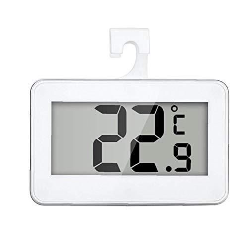 KHHGTYFYTFTY Termómetro del refrigerador Digital Resistente al Agua de Temperatura inalámbrico Refrigerador Congelador a Partir -20 a 60 Grados Grande del LCD Display