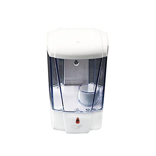 TIMAW Dispensador de jabón automático, Sensor infrarrojo Máquina de desinfección Inteligente de Pared sin Lavado de Pared sin Lavado de Pared (Color : White)