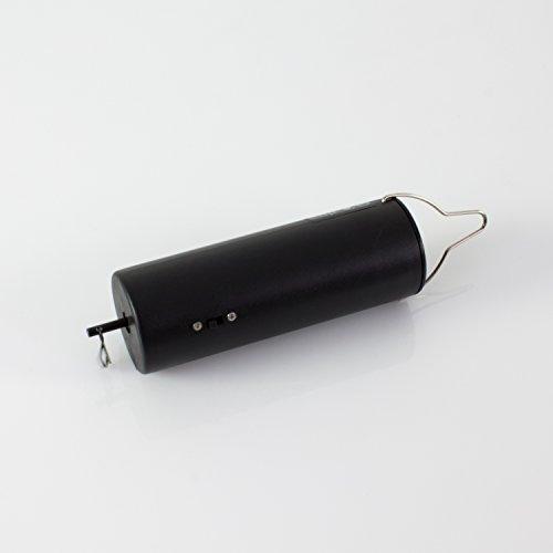 showking - Mobiler Batterie Motor RAW für Discokugeln bis Ø 20 cm, Mobile, UVM, schwarz - Motor für Spiegelkugel/Mobile