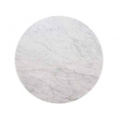 ElleDesign - Mesa Saarinen Tulip redonda, base reforzada, diámetro 90 cm, superficie mármol redonda