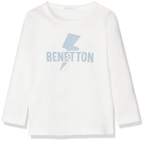 United Colors of Benetton Basic Bb2 Camiseta de Tirantes, Blanco (Bianco Panna...