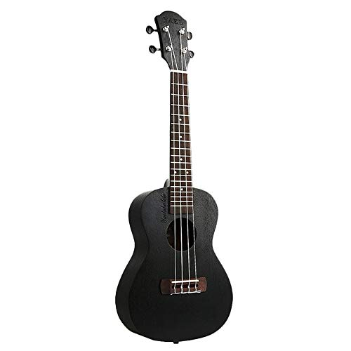 Ukulele 23 Pollici Ukulele Mogano Concerto Ukelele 23 Pollici Hawaiian Nero 4 Corde Piccola Chitarra Guitarra Strumenti Musicali Regali