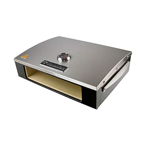Professional Series Stainless and Enamel Steel Pizza Oven Box