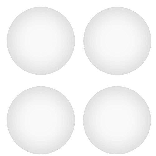 MOSISO 4 Pezzi Piedino di Sostituisci in Silicone Compatibile con Bottom Custodia Pad per MacBook (MacBook PRO/MacBook Air), Bianca