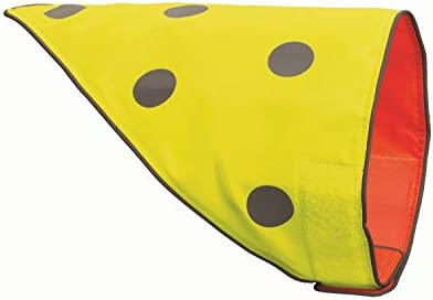 SPOT THE DOG Reflective Bandana Bib Safety Apparel for All Dogs Easy Fastening Closure Reversible product image