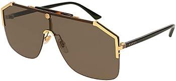 Gucci Brown Shield Men's Sunglasses (GG0291S 002 99)