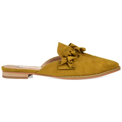 Top 10 best selling list for chartreuse flat shoes