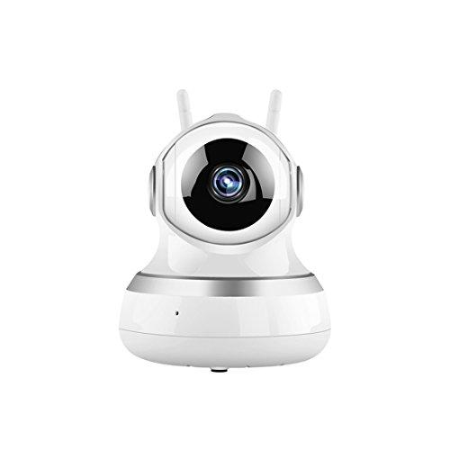 IP Cámara WiFi 720P HD Control Remoto, Monitoreo Remoto, Cámara de detección de Movimiento, Alerta de información, Cámara de visión Nocturna para Seguridad en el hogar Animal Baby Video
