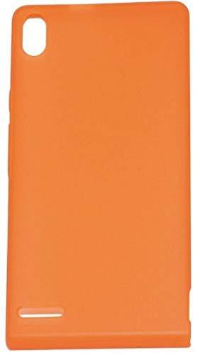 Huawei Ascend P6 Edge TPU Schutzhülle orange