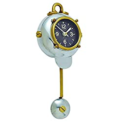 Pendulux, Diver Wall Clock, Home Decoration, 11.5 H x 5 W x 2.5 D inches, 1.25 lbs