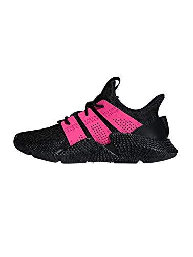 adidas Prophere W, Zapatillas de Gimnasia Mujer, Negro Core Black Shock Pink Carbon, 36 EU