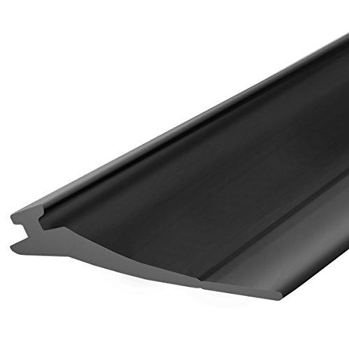 STEIGNER Garagentor Dichtung Bodenabdichtung aus PVC, 5 m, 52 mm x 2 mm, SBD03