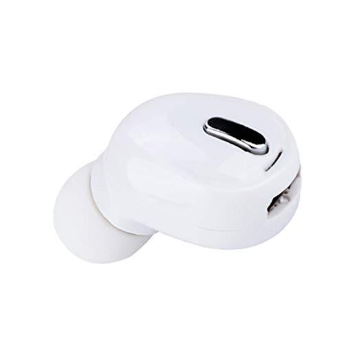 Fone de ouvido sem fio Fone de ouvido Bluetooth Fone de ouvido sem fio, fones de ouvido sem fio, direção para esportes e lazer para fitness(white)