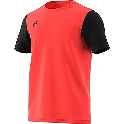adidas FR7118 ESTRO 19 JSY T-Shirt Mens App Solar Red/Black M