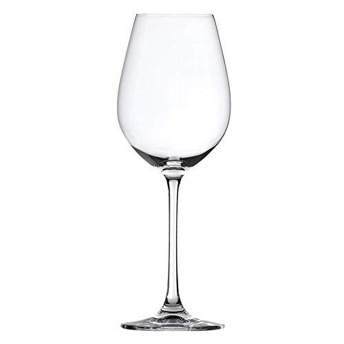 Spiegelau Salute White Wine Glasses – (Clear Crystal, Set of 4, 16.4 oz. capacity each)