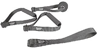 Therapist's Choice Accessories Kit for Bands/Tubes: Including 2 Handles, Door Anchor and Assist Strap