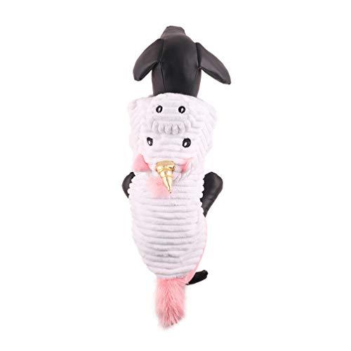 Balacoo Cane Costume di Halloween Adorabile Felpa con Cappuccio Unicorno Festa Divertente Festa Cosplay Vestire Cappotto Felpa Calda Invernale per Cani di Taglia Medio Piccola Taglia Gatti