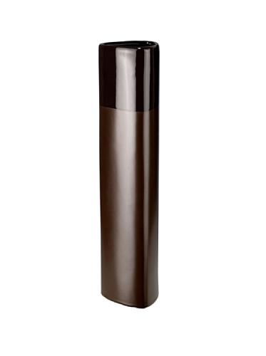 Silea 222/8398 - Vaso Triangle in Ceramica, Altezza 45 cm