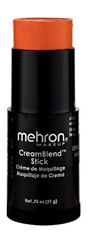 Mehron Makeup CreamBlend Stick (.75 oz) (ORANGE)