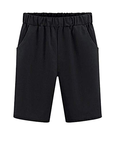 Badshorts voor dames, korte chino-broek, basic short voor strand, modieuze zomer, losse modieus, voor dames, strandbroek, fit