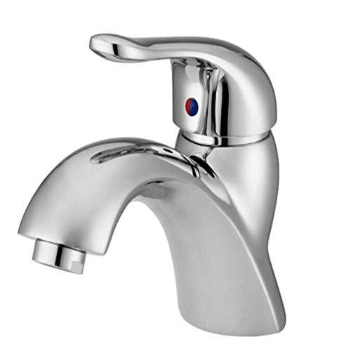 Wasserhähne mit langem Hals, Wasserfallchrom, Küchenarmatur, Wasserhahn mit Drehgelenk, Wasserhahn für das Gesicht, Badezimmer, kaltes und heißes Waschbecken