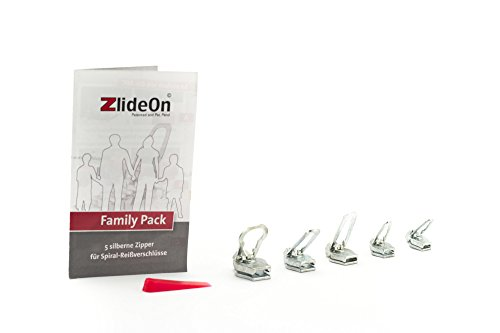 ZlideOn Family Pack (Kunststoff, Metall), silber