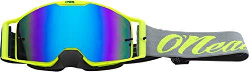 O'NEAL B30 Reseda Goggle MX DH Brille gelb/grau/Radium blau Oneal