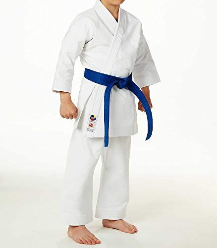 Seishin Premium Jr Karate Gi Uniform Kids – White WKF Approved - 140CM