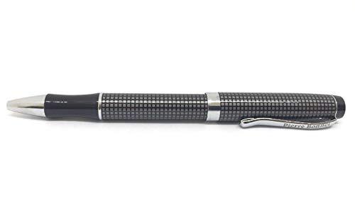 Collezione Penne: Penne Roller, Penne Stilografiche, Mont Blanc, Pierre Bonnet (penna roller Pierre Bonnet quadrettata nera e grigia)