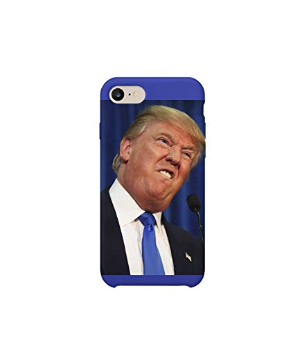 America's President Trump Fuck You Face_MA0709 For iPhone 7 8 Protective Phone Mobile Smartphone Case Cover Hard Plastic Funny Gift Christmas