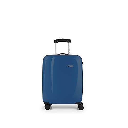 Gabol - Line | Maleta de Cabina Rigidas de 39 x 55 x 20 cm con Capacidad para 33 L de Color Azul