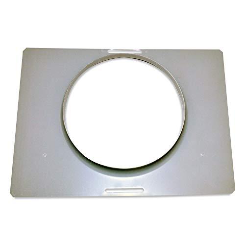 """Whirlpool W10388168 Range Hood 7"""" Damper Mounting Plate"""