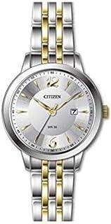 CITIZEN DZ0014-51A Quartz Analog Stainless Steel Gold & Silver Dial Women's Watch
