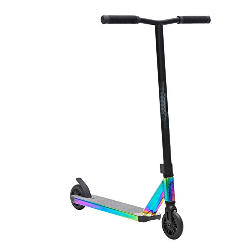 Sullivan Antic Stunt Scooter, Ages 6-12, Jet Fuelled Neo Chrome