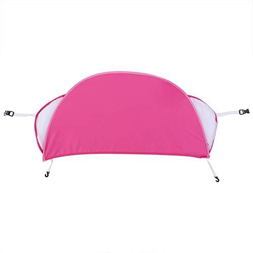 Toldo de sombrilla universal para silla de paseo, cochecito de bebé para niños Silla de paseo Sombrilla de verano Protección UV Cubierta de toldo con errores(Rosa)