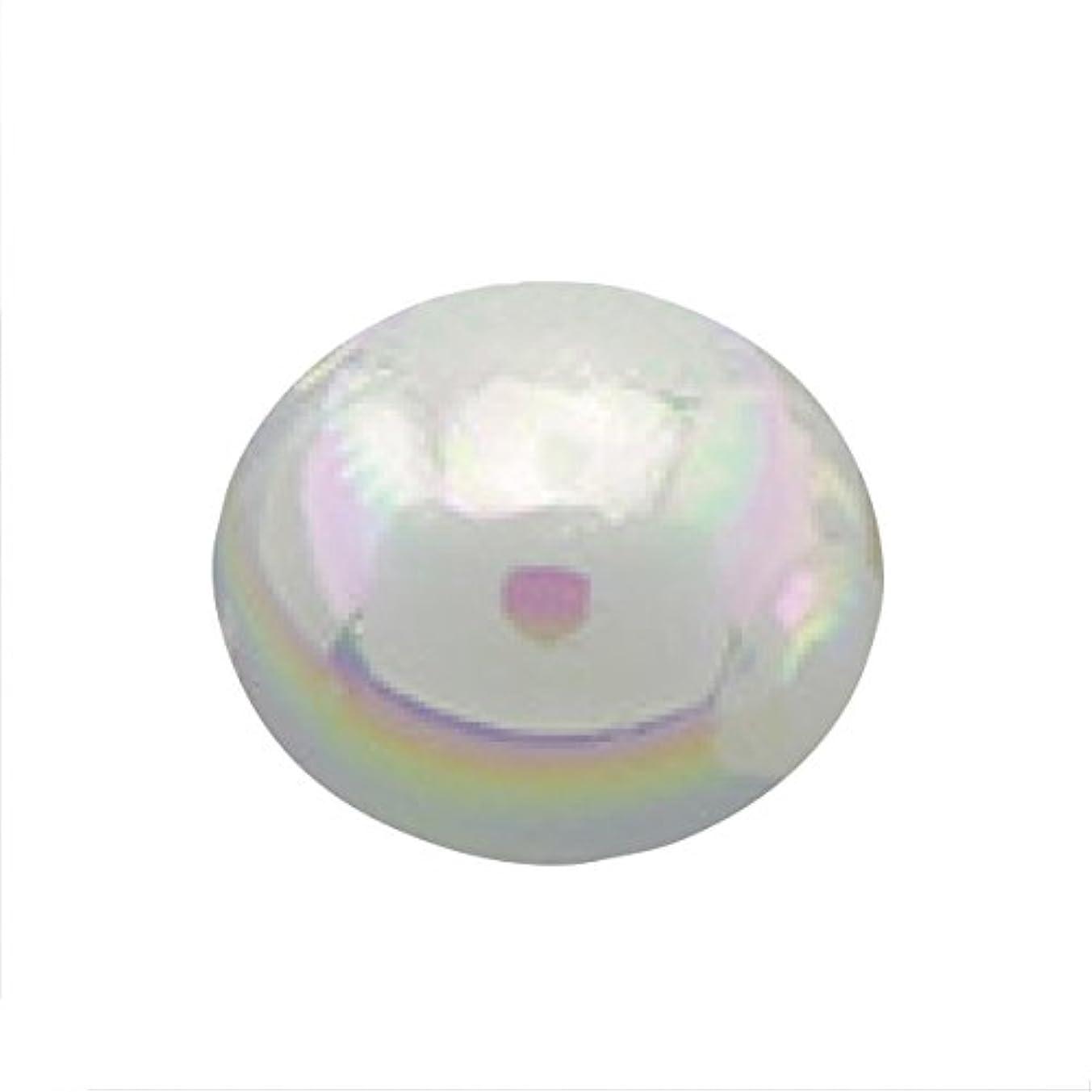 かろうじて外向きラベルパールオーロラオフホワイト1.5mm(50個入り)