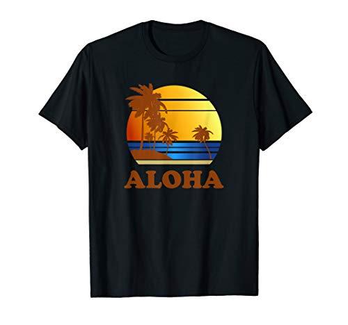 Vintage Hawaiian Islands Aloha T Shirt Family Vacation T-Shirt